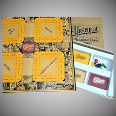 1973 Yesteryear Nostalgia Trivia Board Game. Complete w/ Box & Instructions.