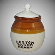 Boston Baked Beans Small Crock Jar