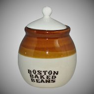 Boston Baked Beans Small Crock Jar