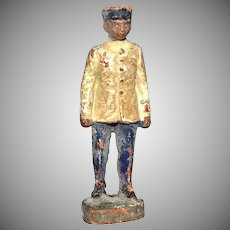 1930s Elastolin Germany African-American Toy Soldier