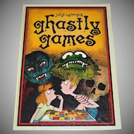 Ghastly Games by John Astrop 12 Sinister Games Oversized Hardcover Book