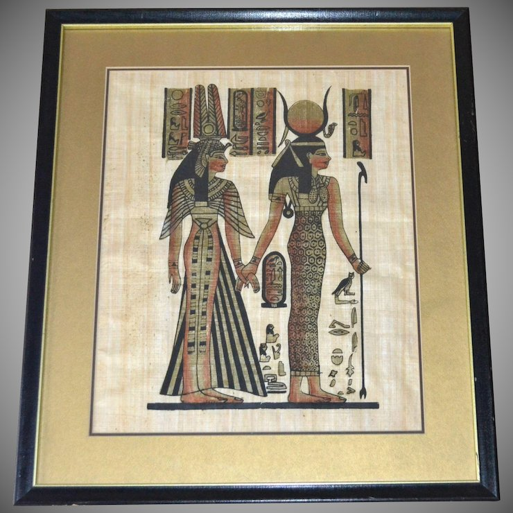 Egyptian Goddess Isis & Queen Nefertari 19\