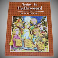 NOS 1993 Today is Halloween! Hardcover Book