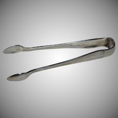 Tiffany & Company Sterling Silver Flemish Pattern Sugar Tongs