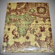 Old World Map w/ Loch Ness Monster Large Photo Album w/ Bonus 3 Pics!