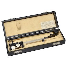 Keuffel & Esser Co. Scale Drawing Drafting Tool Instruments w/ Case Serial No. 2287
