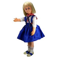 """Charmin' Chatty Mattel 25"""" Original Outfit and Shoes 1962"""