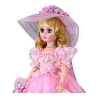 "Madame Alexander Bridesmaid 17"" Elise 1655 Doll Box Tags"
