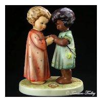 Hummel 662/I Friends Together Figurine TMK-7 Limited Edition