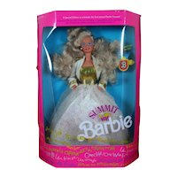 NIB Summit Barbie 7027 Blonde 1990 Special Edition Never Out of Box