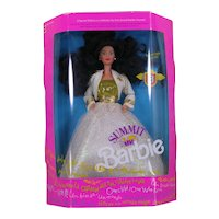 NIB Summit Barbie 7029 Asia 1990 Special Edition Hard to Find Never Out of Box