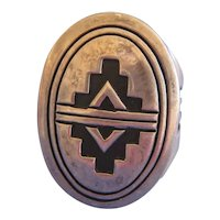 Navajo Men's Ring Size 13, Unusual Style and Design