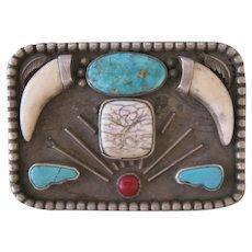 Vintage Belt Buckle, Very, Very Unusual, Entirely Handmade