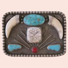 Vintage Belt Buckle, Very, Very Unusual, Entirely Handmade