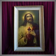 Large Sacred Heart Print