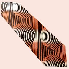 Countess Mara Optical Illusion Tie from Marshall Fields