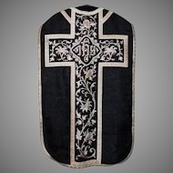 Chasuble Vestment for Requiem Mass