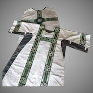 High Mass Chasuble and Dalmatic Vestments Set