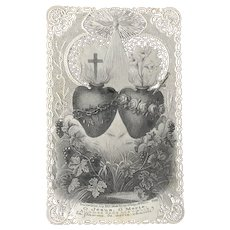 Holy Card Canivet Lacey Paper