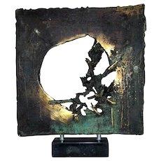 Aldo Caron Abstract Sculpture