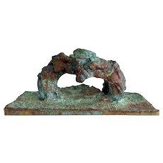 Harry Bertoia Pressure Melt Sculpture Natural Bridge