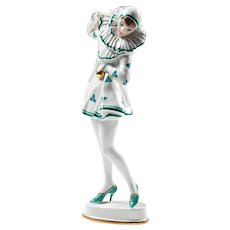 Rosenthal Pierrette Porcelain Figure Art Deco