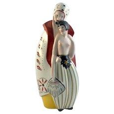 Limoges Porcelain Perfume Lamp Art Deco