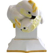 Hutschenreuther Cockatoos Porcelain Figure