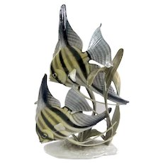Rosenthal Angelfish Group Porcelain Figurine