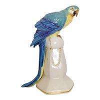 Katzhutte Parrot Fine Porcelain Figurine