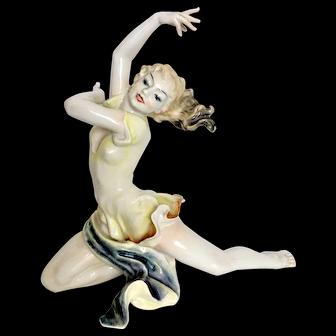 Hutschenreuther Dancer Fine Porcelain Figurine