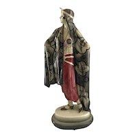 Goldscheider Cleopatra Austrian Fine Porcelain Figurine