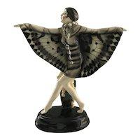 Goldscheider Butterfly Dancer Austria Lorenzl