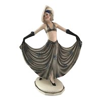 Goldscheider Dancer by Dakon Art Deco