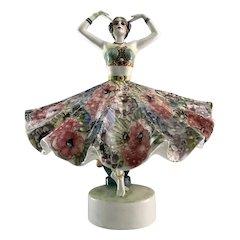 Austrian Goldscheider Art Deco Dancer