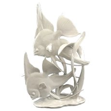 Rosenthal Angelfish Group Fine Porcelain Figurine