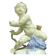 Hutschenreuther Cupid Putti with Bow and Arrows