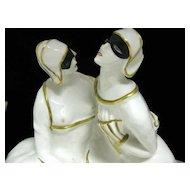 Porcelain Lovers Lamp