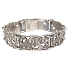Celtic 830s Dragons Bracelet Really Unusual Piece