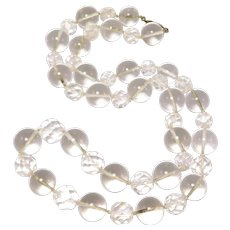 Art Deco Crystal Orb Pools Of Light Beads