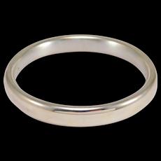 Estate Sterling 925 Italy Milor Bangle Bracelet