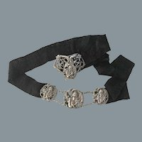 Rare Art Nouveau Belt Free Shipping