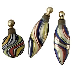 Antique Murano Small Perfume Bottles