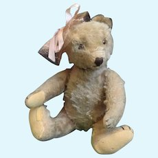 "11"" Antique Steiff Mohair Jointed Teddy Bear - End of Summer Sale!"