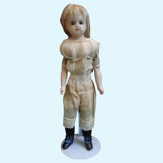 "14"" Reinforced Wax Doll Ready to Dress - End of Summer Sale!"