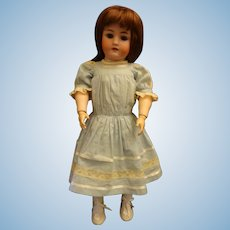 23 Inch German Child Doll by Heinrich Handwerck