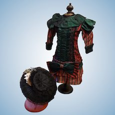 Artist Made Costume for a Large French Bebe
