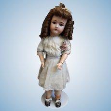 23 Inch German Bisque Doll by Heinrich Handwerck End of Summer Sale!!