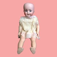 18 Inch German Bisque Doll by K & K End of Summer Sale!