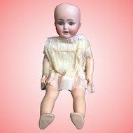 18 Inch German Bisque Doll by K & K